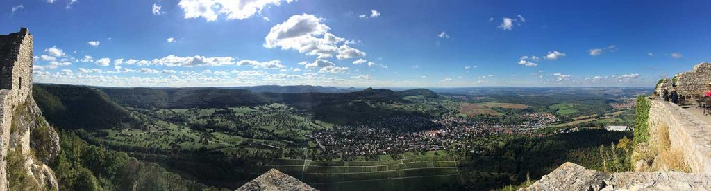 Panoramabild Hohen Neuffen