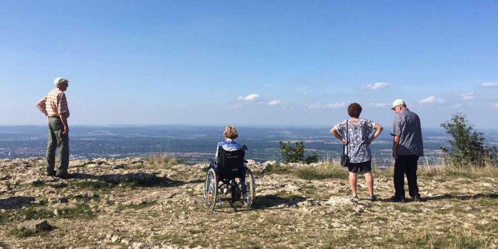 Aussicht - Urlaub mit Pflege