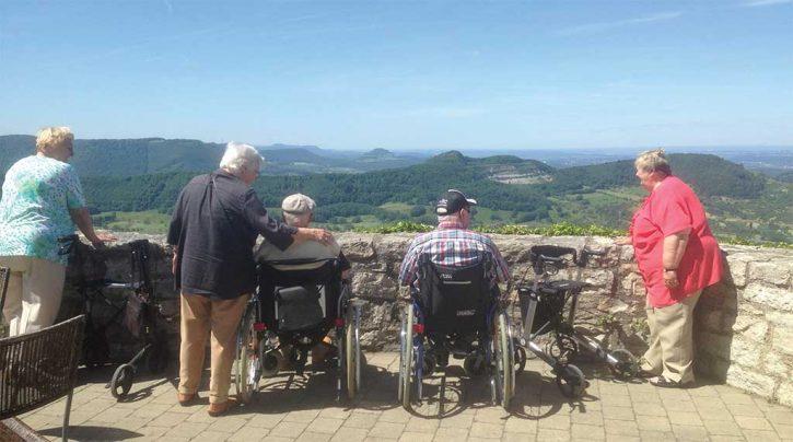 Urlaub für Rollstuhlfahrer und ihre pflegenden Partner