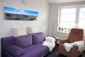 Urlaubsidylle-Alb Ferienhaus - Wohnzimmer