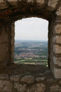 Vom Hohen Neuffen Richtung Altbach