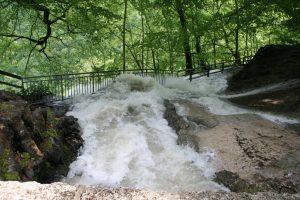 Hochwasser am Wasserfall 2013