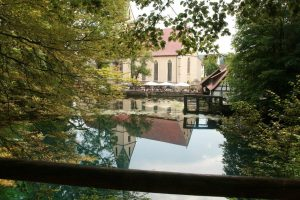 Kloster im Blautopf