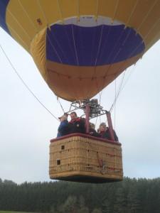 Ballonfahrt über der Schwäbischen Alb