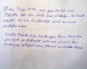 Gästebucheintrag -08