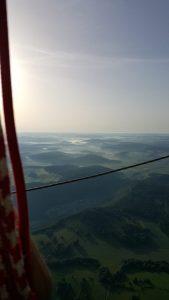 Heißluftballon - Schwäbische Alb