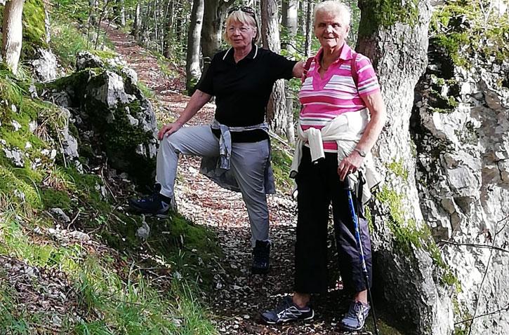 Wandertouren für Senioren - Schwäbische Alb