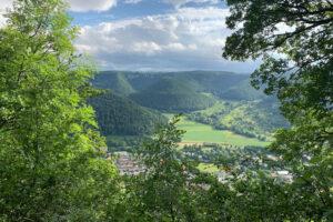 Ausblick - Schwäbische Alb