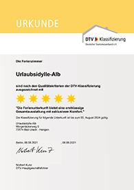 Auszeichnung Deutscher Tourismusverband e.V.